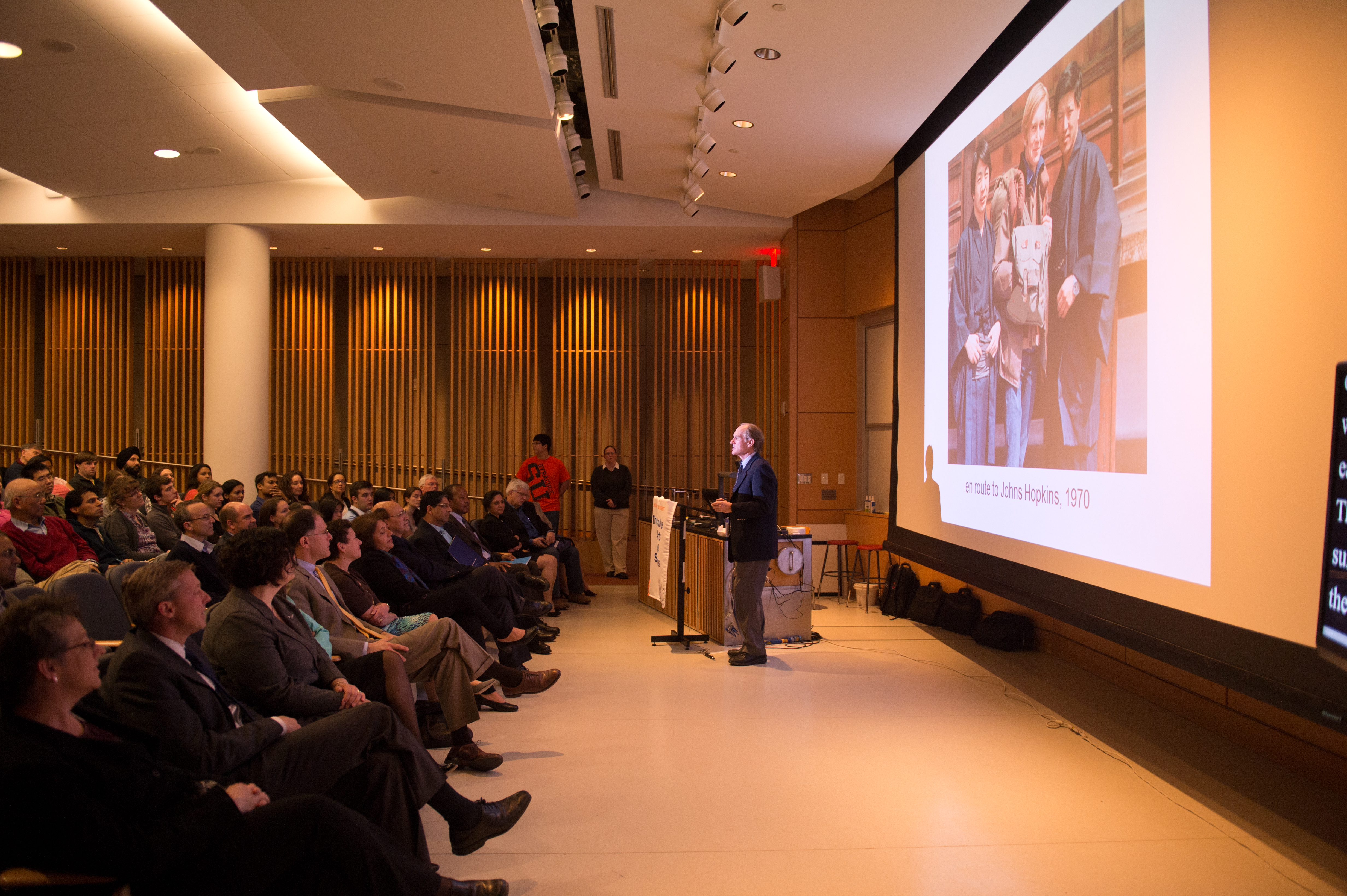 Dr Peter Agre Nobel Laureate Speaker at Daouk Lecture