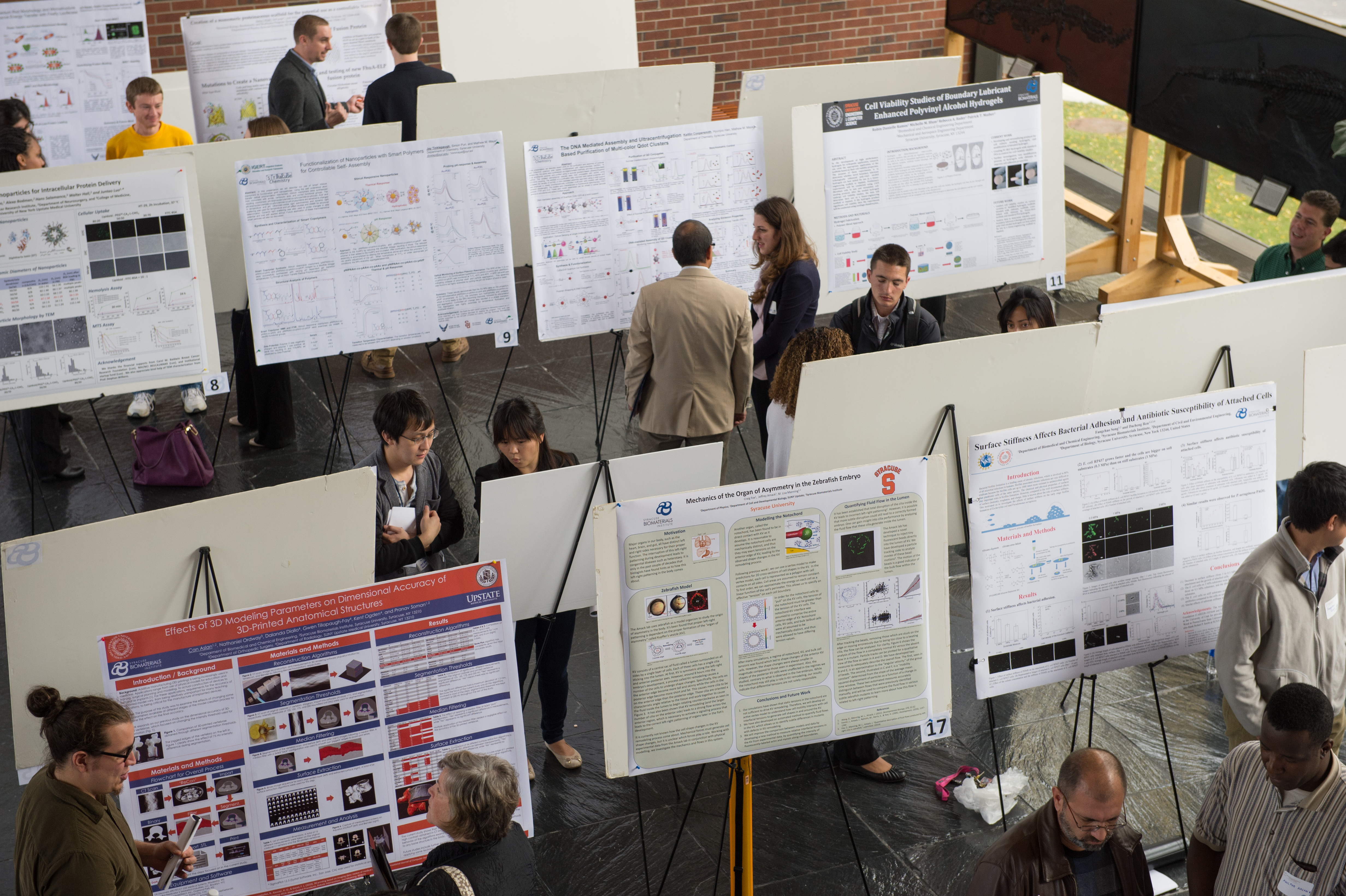Stevenson Biomaterials Lecture Series Research Poster Session 2014 Engineering Science Students Graduate Students
